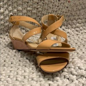 NWOT Authentic JIMMY CHOO Kitten Wedges